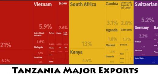 Tanzania Major Exports