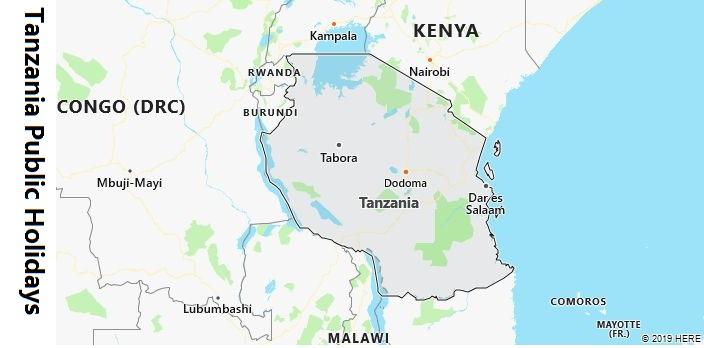 Tanzania Public Holidays