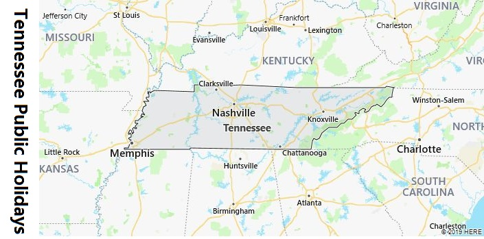 Tennessee Public Holidays