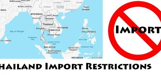 Thailand Import Regulations