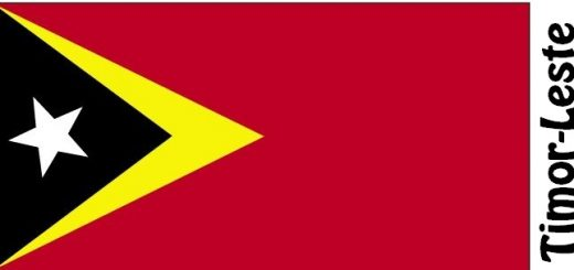 Timor-Leste Country Flag