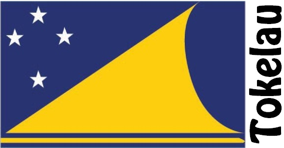 Tokelau Country Flag