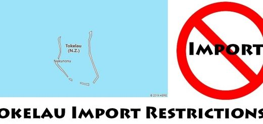 Tokelau Import Regulations