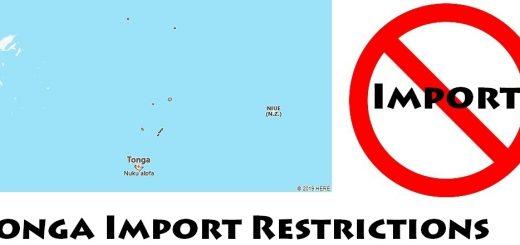 Tonga Import Regulations
