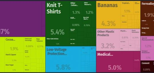 Top Products Exported by Dominican Republic
