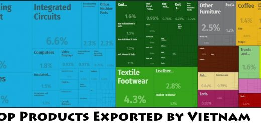 Top Products Exported by Vietnam
