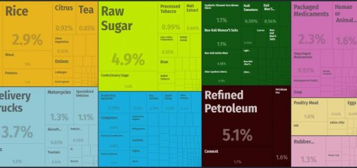 Top Products Imported by Afghanistan
