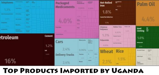Top Products Imported by Uganda