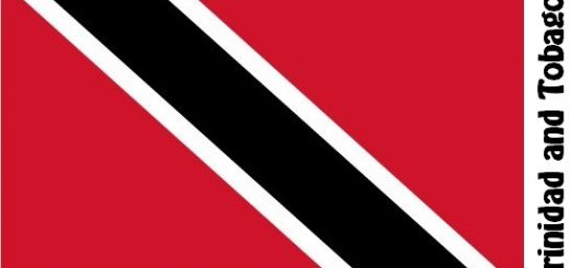 Trinidad and Tobago Country Flag