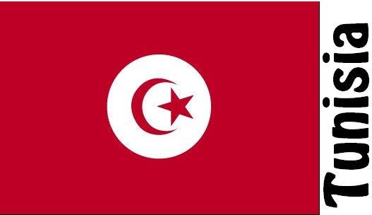 Tunisia Country Flag