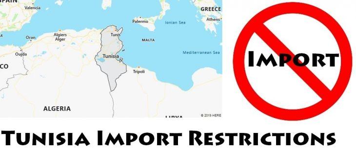 Tunisia Import Regulations
