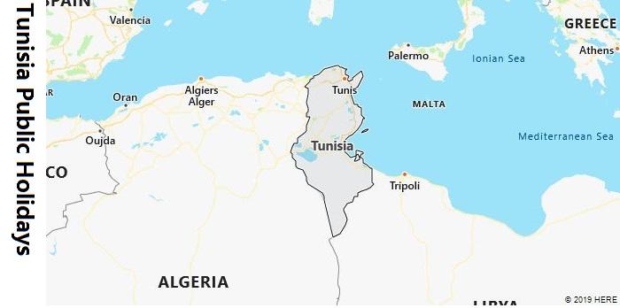 Tunisia Public Holidays