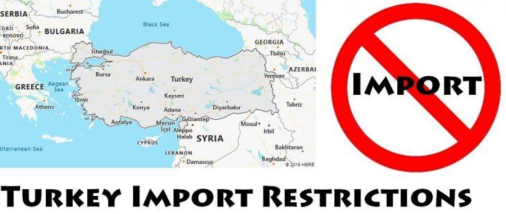 Turkey Import Regulations