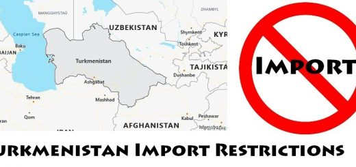 Turkmenistan Import Regulations