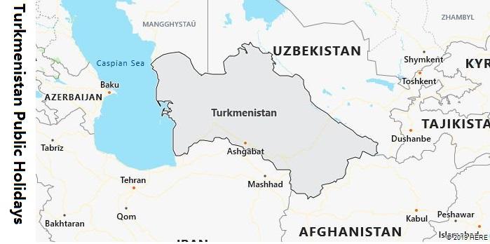 Turkmenistan Public Holidays
