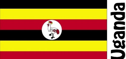 Uganda Country Flag