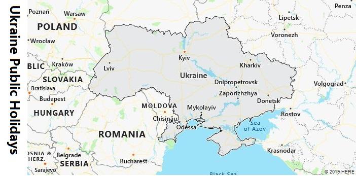 Ukraine Public Holidays