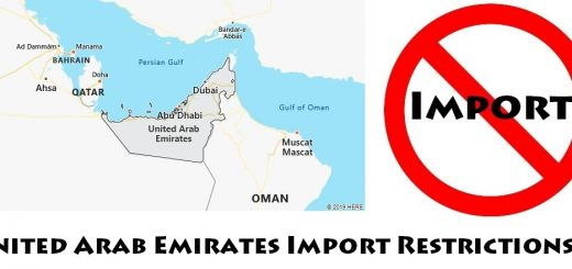 United Arab Emirates Import Regulations