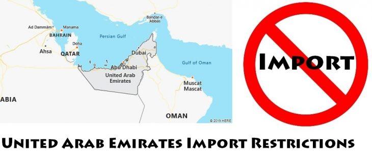 United Arab Emirates Import Regulations