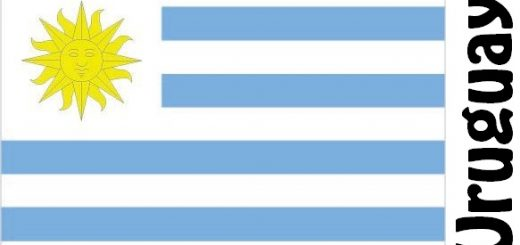 Uruguay Country Flag