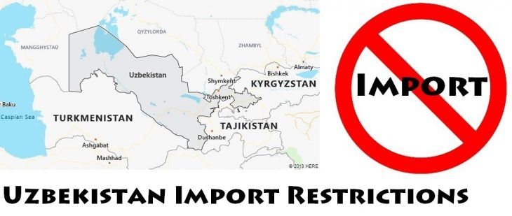 Uzbekistan Import Regulations