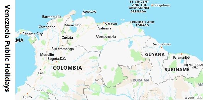 Venezuela Public Holidays