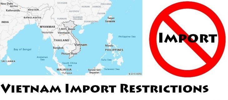Vietnam Import Regulations