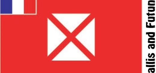 Wallis and Futuna Country Flag