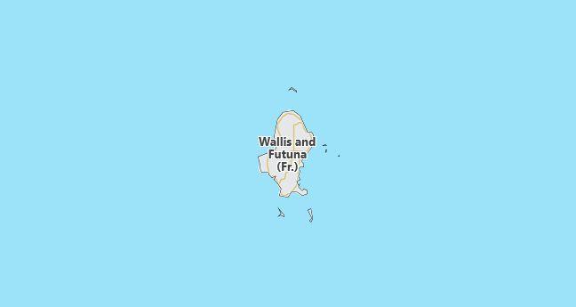 Wallis and Futuna Map