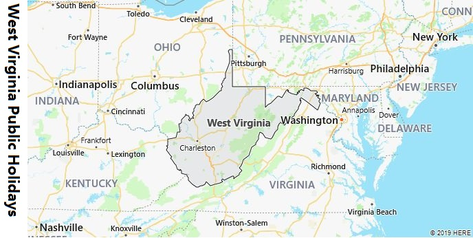West Virginia Public Holidays