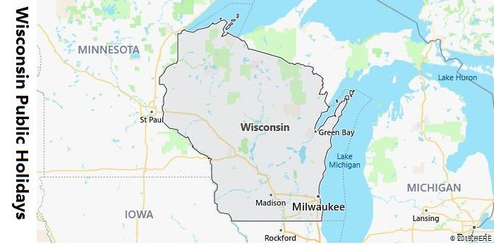 Wisconsin Public Holidays