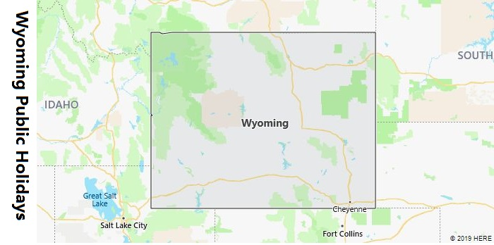 Wyoming Public Holidays