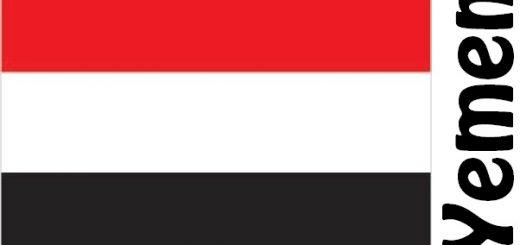 Yemen Country Flag