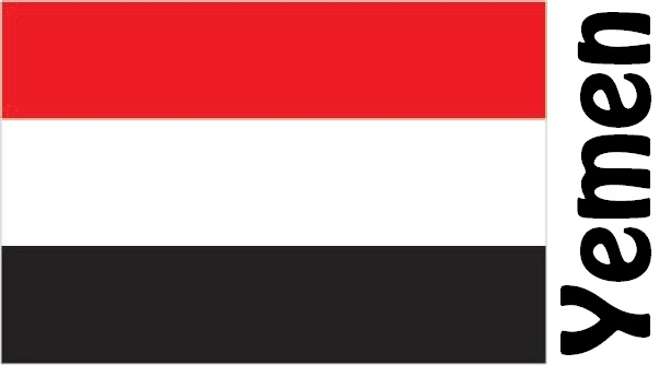 Yemen Country Flag