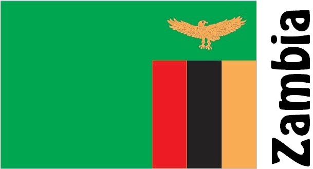 Zambia Country Flag