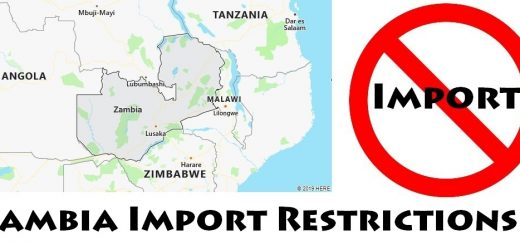 Zambia Import Regulations