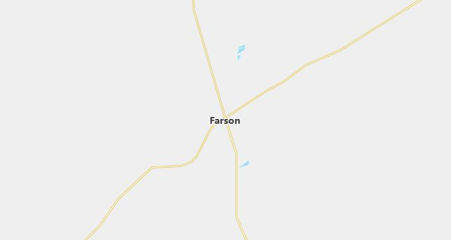 Map of Farson, WY