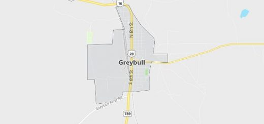 Map of Greybull, WY