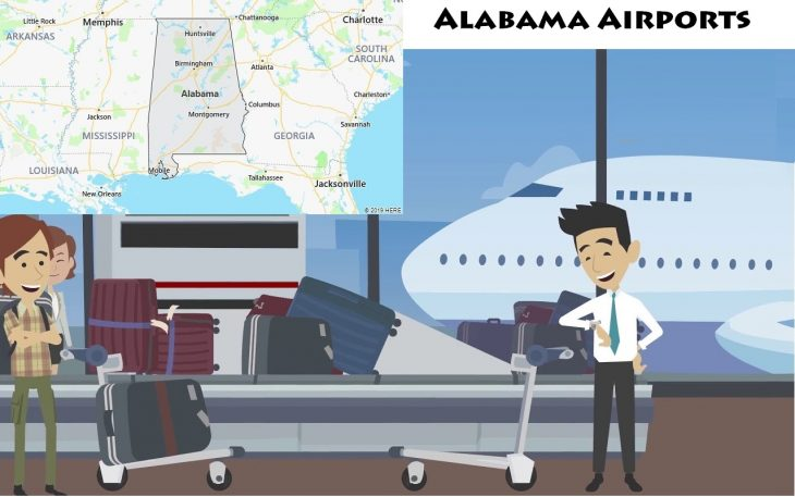 Airports in Alabama