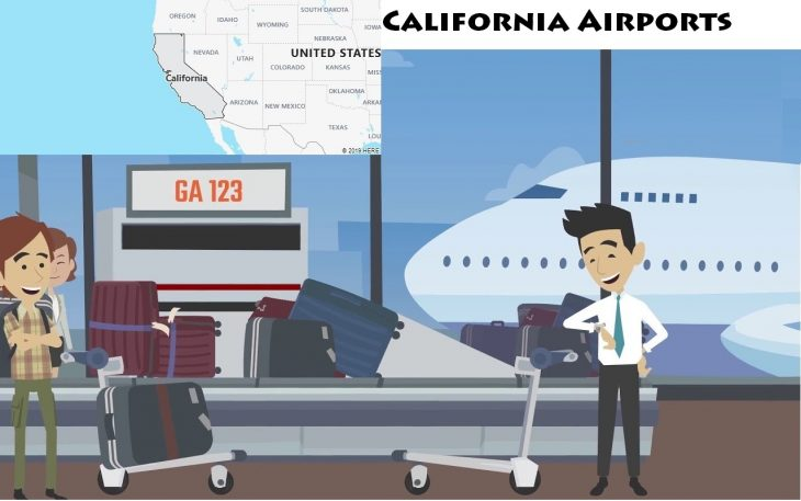 Airports in California