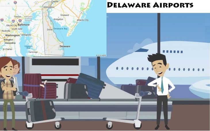Airports in Delaware