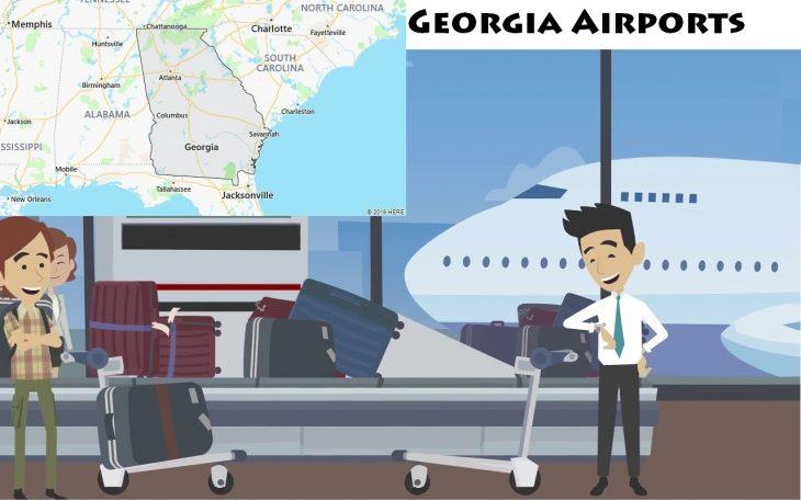 Airports in Georgia, USA
