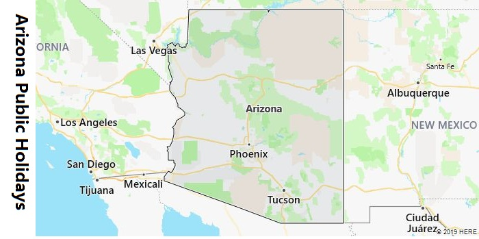 Arizona Public Holidays
