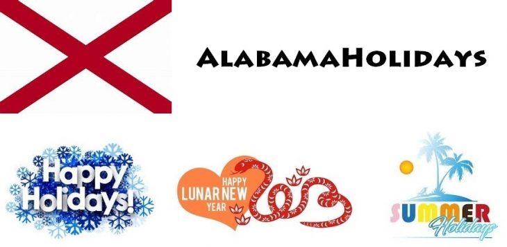 Holidays in Alabama