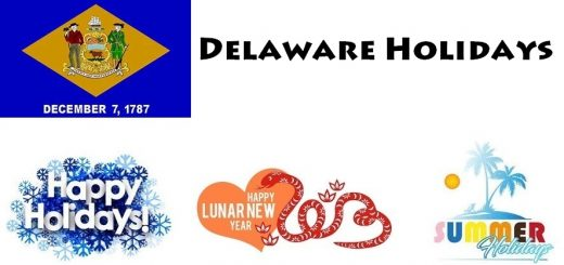 Holidays in Delaware
