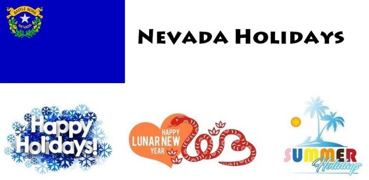 Holidays in Nevada
