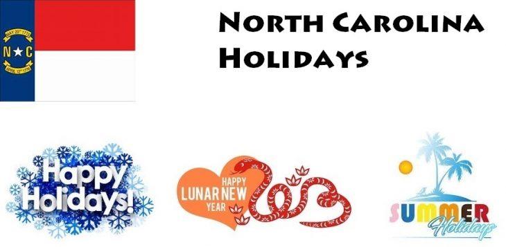 Holidays in North Carolina