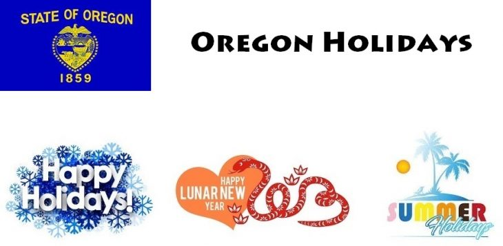 Holidays in Oregon