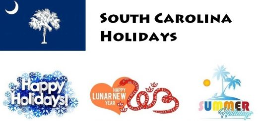 Holidays in South Carolina