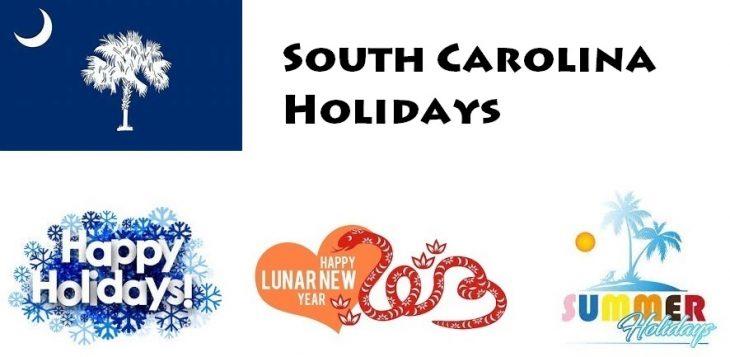 Holidays in South Carolina